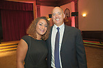 Waterbury, CT-22, September 2017-092217CM08 Social Moments from left--- Caitlin Ramos of Naugatuck and her father, Michael Anthony of Waterbury are photographed during the Ninth Annual Brass Button Awards at the Mattatuck Museum in Waterbury.   Christopher Massa Republican-American