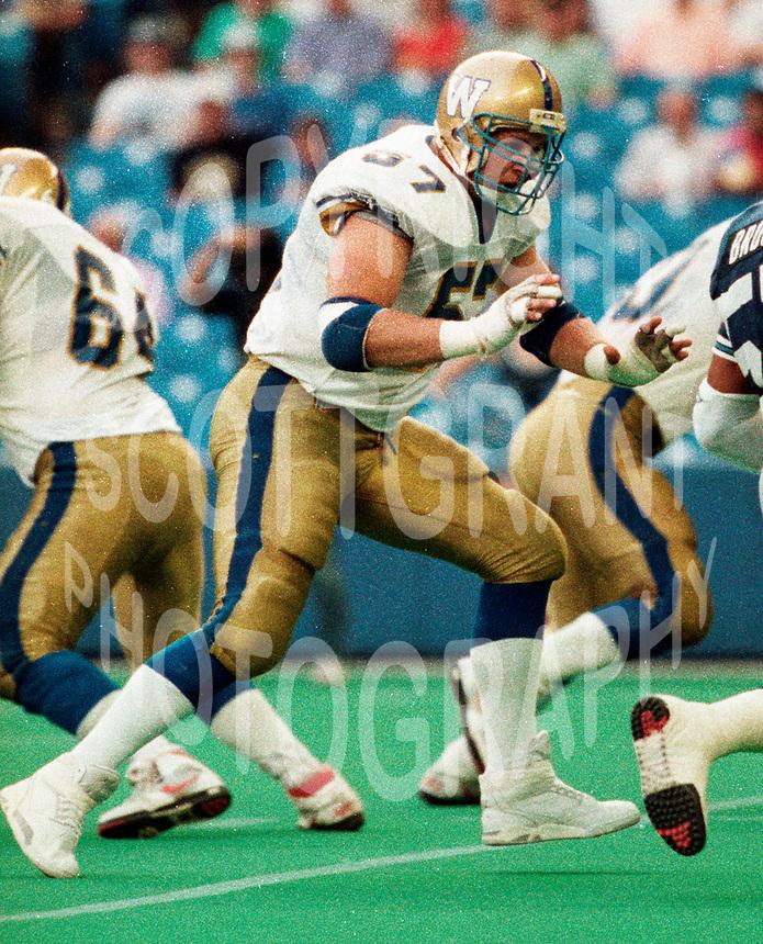 Winnipeg Blue Bombers-1991-Photo:Scott Grant