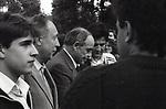 "Participants of Odessa film festival ""Golden Duke"", 1988. / Участники одесского кинофестиваля ""Золотой Дюк"", 1988 год."