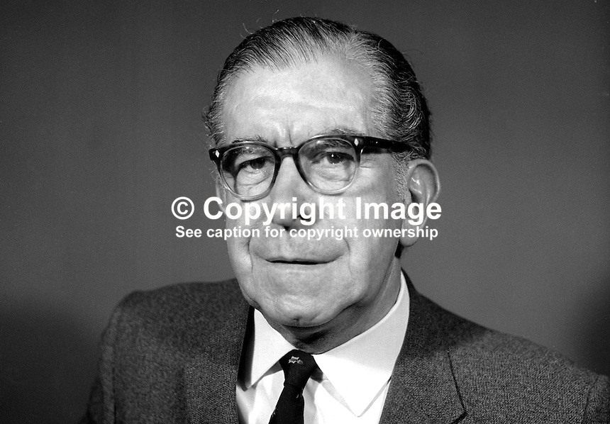 John McBride, professional actor, Belfast, N Ireland, May 1969, 196905000179b.<br />