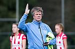 AMSTELVEEN - Assistent-coach Tom Pijpers (HDM) Hoofdklasse competitie dames, Hurley-HDM (2-0) . COPYRIGHT KOEN SUYK