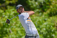 Troy Merritt (USA) watches his tee shot on 2 during Round 4 of the Zurich Classic of New Orl, TPC Louisiana, Avondale, Louisiana, USA. 4/29/2018.<br /> Picture: Golffile | Ken Murray<br /> <br /> <br /> All photo usage must carry mandatory copyright credit (&copy; Golffile | Ken Murray)