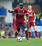 Sadio Mane of Liverpool during the premier league match at Goodison Park Stadium, Liverpool. Picture date 7th April 2018. Picture credit should read: Robin Parker/Sportimage
