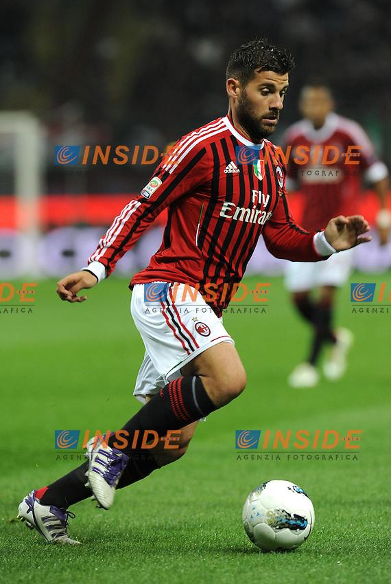 "Antonio NOCERINO (Milan).Milano 26/10/2011 Stadio ""Giuseppe Meazza"".Serie A 2011/2012.Football Calcio Milan Vs Parma.Foto Insidefoto Alessandro Sabattini."