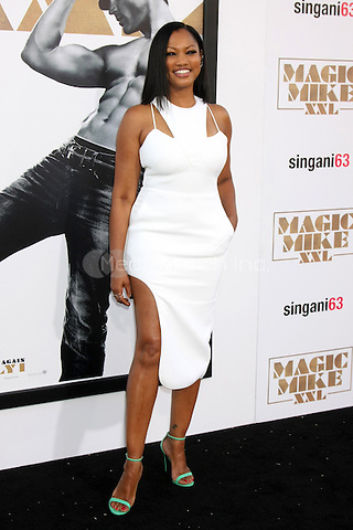 """LOS ANGELES, CA - JUNE 25: Garcelle Beauvais  at the """"Magic Mike XXL"""" Premiere at the TCL Chinese Theater on June 25, 2015 in Los Angeles, California. Credit: David Edwards/MediaPunch"""