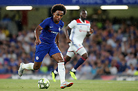 Willian of Chelsea in action during Chelsea vs Lyon, International Champions Cup Football at Stamford Bridge on 7th August 2018