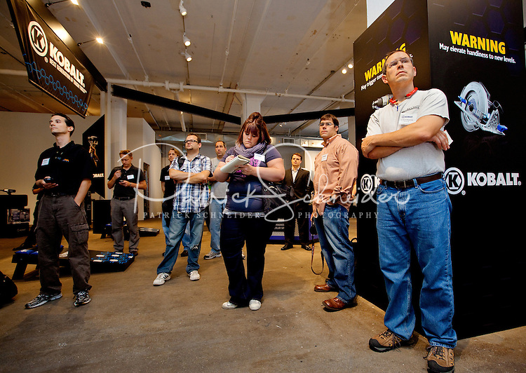 Photography of the Kobalt Power Tools launch in New York City...Photography by: Patrick Schneider Photo.com.