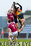 Shane Carroll Austin Stacks in action against Patsy Bradley Slaughtneil in the All Ireland Club Football Semi Final in Portlaoise on Sunday.