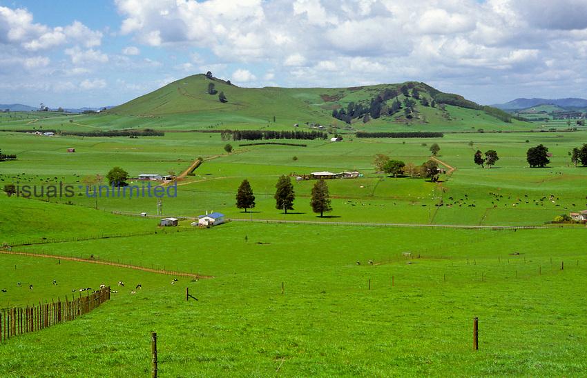 Te-Kawa is an extinct basaltic volcano north of Otorohanga, New Zealand.