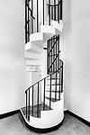 Internal Spiral Staircase, Signal Tower At Blackhead Point, Tsim Sha Tsui.
