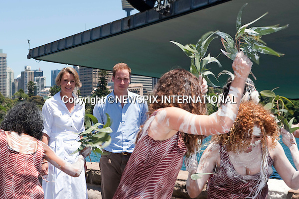 """PRINCE WILLIAM.Prince William attended a BBQ lunch with Christina Keneally (Premier of New South Wales). The BBQ was held at Mrs Macquaries Chair, Sydney with the beautiful backdrop of Sydney Harbour Bridge and the Sydney Opera House.William met a host of Sydney residents recived some gift, posed for a photo op with Christina Keneally and took a private boat ride on a RIB around the Harbour. Mrs Macquaries Chair, Sydney, Australia_20/01/2010..Mandatory Credit Photo: ©DIAS-NEWSPIX INTERNATIONAL..**ALL FEES PAYABLE TO: """"NEWSPIX INTERNATIONAL""""**..IMMEDIATE CONFIRMATION OF USAGE REQUIRED:.Newspix International, 31 Chinnery Hill, Bishop's Stortford, ENGLAND CM23 3PS.Tel:+441279 324672  ; Fax: +441279656877.Mobile:  07775681153.e-mail: info@newspixinternational.co.uk"""