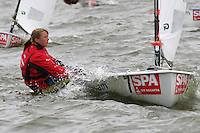 20th SPA Regatta - Medemblik.26-30 May 2004..Copyright free image for editorial use. Please credit Peter Bentley..Signe Livbjerg - DEN