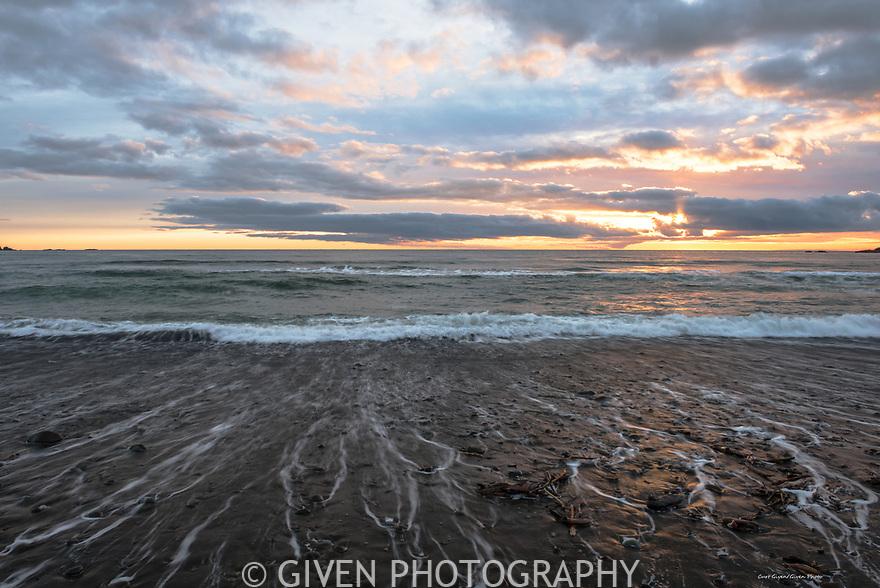Ocean Sunset, Olympic National Park, Washington