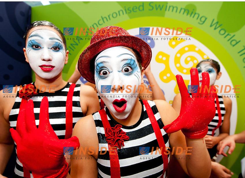 Mexico MEX.Highligths event Day01 - Nov. 30.7th FINA Synchronized Swimming  World Trophy.Mexico City MEX - Nov. 30th, Dec. 2nd, 2012.Photo G.Scala/Deepbluemedia/Inside .Nuoto Sincronizzato