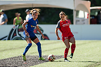 Seattle, WA - Saturday, August 26th, 2017: Hayley Raso during a regular season National Women's Soccer League (NWSL) match between the Seattle Reign FC and the Portland Thorns FC at Memorial Stadium.