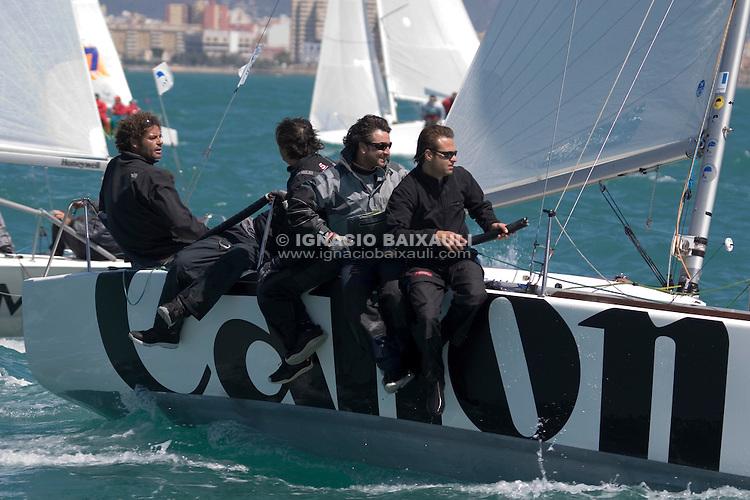 Malvado Sindicato Canon - Platu 25 - V Hublot PALMAVELA - Rela Club Náutico de Palma - 18-20/4/2008 - Palma de Mallorca - Baleares - España