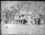 Frederick Stone negative. Charles MItchell house, West Main Street, 1892.