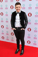 Nicholas McDonald arriving at the Tesco Mum Of The Year Awards 2014, at The Savoy, London. 23/02/2014 Picture by: Alexandra Glen / Featureflash