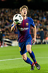 Sergi Roberto Carnicer of FC Barcelona reacts during the Copa Del Rey 2017-18 match between FC Barcelona and Valencia CF at Camp Nou Stadium on 01 February 2018 in Barcelona, Spain. Photo by Vicens Gimenez / Power Sport Images