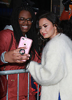 NEW YORK, NY - JANUARY 24: Demi Lovato at Good Morning America in New York City ON January 24, 2018. Credit: RW/MediaPunch