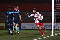 First Stevenage goal during Stevenage Youth vs Middlesbrough Youth, FA Youth Cup Football at the Lamex Stadium on 11th January 2018