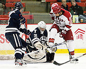 (Balch) Nick Maricic (Yale - 31), Marshall Everson (Harvard - 21) - The Harvard University Crimson defeated the visiting Yale University Bulldogs 8-2 in the third game of their ECAC Quarterfinal matchup on Sunday, March 11, 2012, at Bright Hockey Center in Cambridge, Massachusetts.