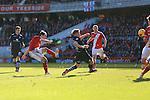 Kike of Middlesbrough strikes at goal - Middlesbrough vs. Leeds United - Skybet Championship - Riverside Stadium - Middlesbrough - 21/02/2015 Pic Philip Oldham/Sportimage
