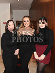 Kellie Winters celebrating her 18th birthday in Brú with Faith and Ruth Grimes. Photo:Colin Bell/pressphotos.ie