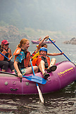 USA, Oregon, Wild and Scenic Rogue River in the Medford District, rafting near Black Bar Lodge