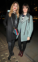 Eve Delf and Sam Rollinson at the Danielle Copperman's &quot;Well Being&quot;  book launch party, Lululemon, Regent Street, London, England, UK, on Thursday 11 January 2018.<br /> CAP/CAN<br /> &copy;CAN/Capital Pictures /MediaPunch ***NORTH AND SOUTH AMERICAS ONLY***