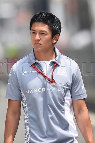 15.04.2016 Shanghai, China. F1 Grand Prix of China, Practise day.<br /> Rio Haryanto Manor team Formula 1 GP