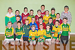 HANDBALL: Playing in the Handball competition in Tralee Sport Complex on Friday evening, from clubs around Kerry, Front l-r: Brian Lonergan and Conor O'Brien (O? Brennan's), Conor O'Brien (Gni?omh Go Leith), Lorcan Keane(Gni?omh Go Leith), Stephen O'Connor ( Cill Mhic A' Domhnaigh), Jamie Brossnan (Cini?omh Go Leith) agus Ciara?n O? Nualla?in (Nuachabel). 2nd row l-r: Robert O'Connor (Gleannbeithe), Con O? Riaga?in (Ceanntr'a), Ruairi? O? Beagladich (Scoil Mhaolche?adair), Kevin Lenihan and Dylan Dunne (Cloghers). 3rd row l-r: Luk O'Connor (Glenbeigh), Danneille O'Donoghue (Nuachabha?l),Brenda Murphy (Tu?irin Cathail), Jack Brosnan(Gni?omh Go Leith), Morgan Daly (Tu?iri?n Cathail), Patrick Brosnan(Gni?omh Go Leith),Jerry Cronin (Tu?iri?n Cathail), David Nolan (Nuachabhal), JJ Herlihy (Tu?iri?n Cathail) agus Michea?l Griffin(Gleannbeithe)........... . ............................... ..........