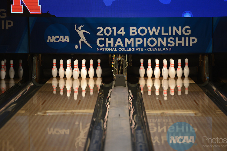 12 APR 2014:  The Division I Women's Bowling Championship held at Game of Wickliffe in Wickliffe, OH.  Sam Houston State University defeated Nebraska 4-2 for the national title.  Eric Mull/NCAA Photos