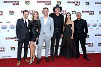 "LOS ANGELES - AUG 13:  Alex Ranarivelo, Christina Moore, Michael Roark, Trace Adkins, Allison Paige, Ali Afshar, Hunter Clowdus at the ""Bennett's War"" Los Angeles Premiere at the Warner Brothers Studios on August 13, 2019 in Burbank, CA"