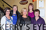 Old friends Mary O'Connor, Carmel Clifford, Catherine O'Connor, Mairead O'Shea, Eileen O'Shea Beaufort who regrouped for a reunion meal in Lord Kenmare's restaurant on Saturday night