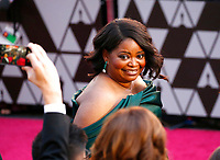 Octavia Spencer arrives at the Oscars on Sunday, March 4, 2018, at the Dolby Theatre in Los Angeles. (Photo by Eric Jamison/Invision/AP)