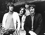 KINKS 1968 Ray Davies, Dave Davies, Pete Quaife, Mick Avory...© Chris Walter..
