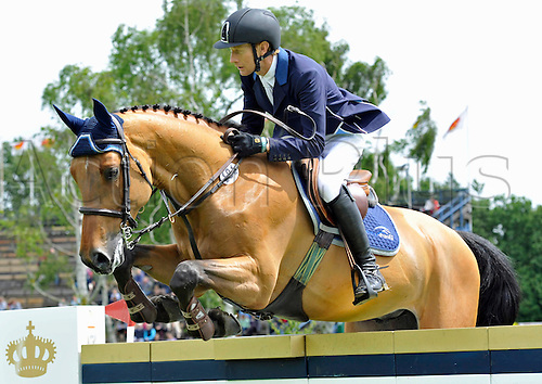 22.06.2013. The Bunn Leisure Derby Trophy. The British Jumping Derby from Hickstead, West Sussex, England.
