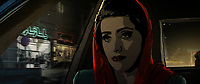 Tehran Taboo (2017)<br /> Pari in a taxi<br /> *Filmstill - Editorial Use Only*<br /> CAP/KFS<br /> Image supplied by Capital Pictures