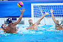Keigo Okawa (JPN), <br /> AUGUST 8, 2016- Water Polo : <br /> Men's Preliminary Round group A<br /> match between Japan - Brazil <br /> at Maria Lenk Aquatic Centre <br /> during the Rio 2016 Olympic Games in Rio de Janeiro, Brazil. <br /> (Photo by Yohei Osada/AFLO SPORT)