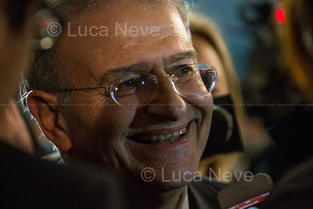19:04 - On. Fabrizio Cicchitto, PDL whip of the Chamber of Deputies.<br /> <br /> Rome, 25/02/2013. Reportage covering the second day of the Italian General Election, including the campaign HQ's of the Rivoluzione Civile - Antonio Ingroia, the PDL (Popolo della Libert&aacute;) - Silvio Berlusconi, and the Scelta Civile - Mario Monti.