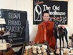 Jeni Glasgow frm the Brown Hound bakery at the Old Schoolhouse market on Laurence street. Photo:Colin Bell/pressphotos.ie