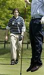 ARNHEM - Floris de Haas.    Voorjaarswedstrijden Golf heren op de Rosendaelsche Golfclub COPYRIGHT KOEN SUYK