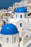 In the Middle Ages (1335), the site of the Santorini town of Oia was a Venetian fortresses. In 1579, when the island passed to the Ottomans, it was a popular site for raiding pirates. Following the Ottoman Occupation in 1830, the regional economy flourished and Pano Meria (the Upper Side) changed its name to Oia.
