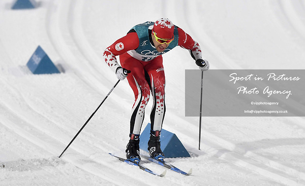Alex Harvey (CAN). Mens sprint classic qualification. Cross country skiing. Alpensia Croos-Country skiing centre. Pyeongchang2018 winter Olympics. Alpensia. Republic of Korea. 13/02/2018. ~ MANDATORY CREDIT Garry Bowden/SIPPA - NO UNAUTHORISED USE - +44 7837 394578