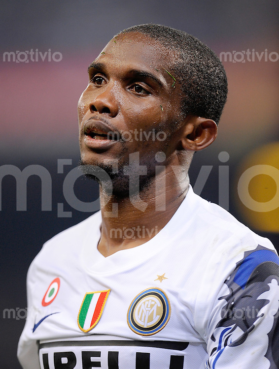 FUSSBALL INTERNATIONAL   SERIE A   SAISON 2010/2011    CFC Genoa - Inter Mailand     29.10.2010 Samuel Eto'o , Eto  (Inter)