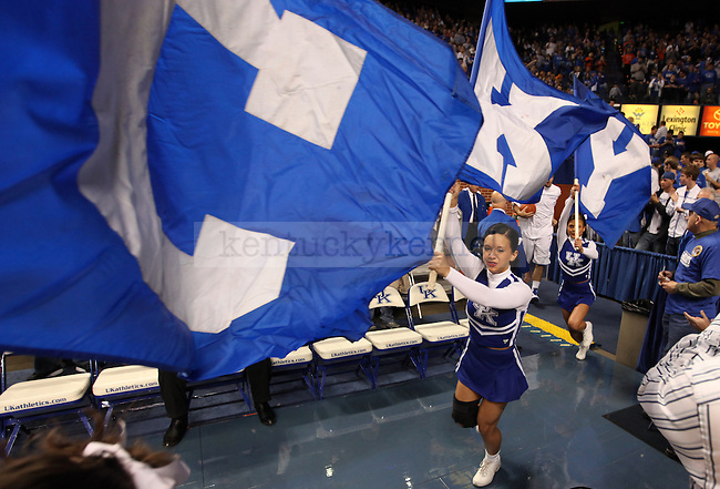 in the first half of UK's first exhibition game vs. Pikeville on Mon. Nov. 1, 2010. Photo by Britney McIntosh | Staff