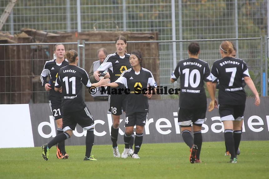 Torjubel 1. FFC  Frankfurt - 1. FFC Frankfurt vs. VfL Sindelfingen