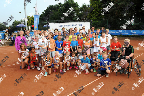 2014-09-07 / Tennis / seizoen 2014 / Feest van de jeugd / De finalisten van de editie 2014<br /><br />Foto: Mpics.be