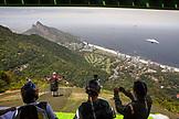 BRAZIL, Rio de Janiero, Hangliding Pedra da Gavea, to Sao Conrado Beach